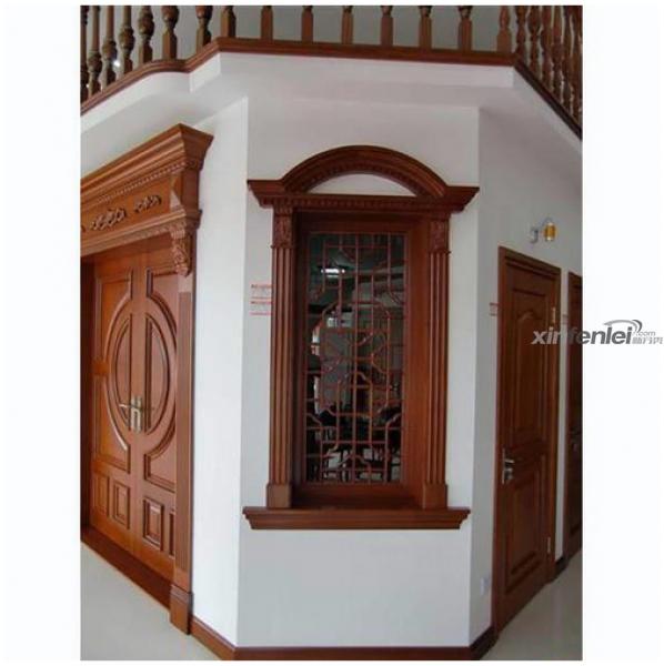 高档实木窗-哈尔滨浩森铝包木门窗-新分类